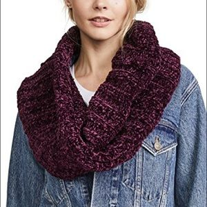 NWT Free People Love Bug Chenille Cowl Scarf